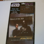 STAR WARS Return of the Jedi Book and Cassette pack sealed